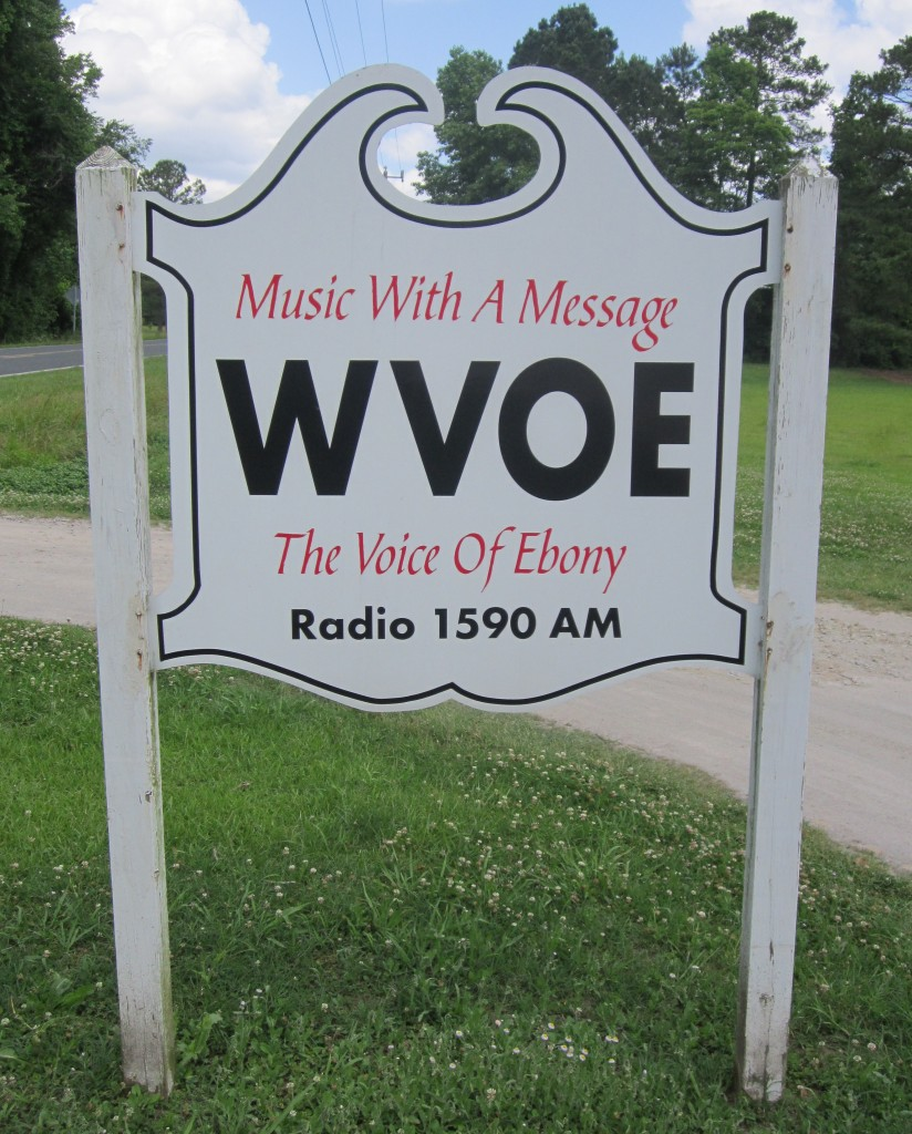 WVOE Sign, Cropped