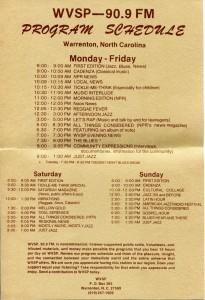 WVSP Program schedule004