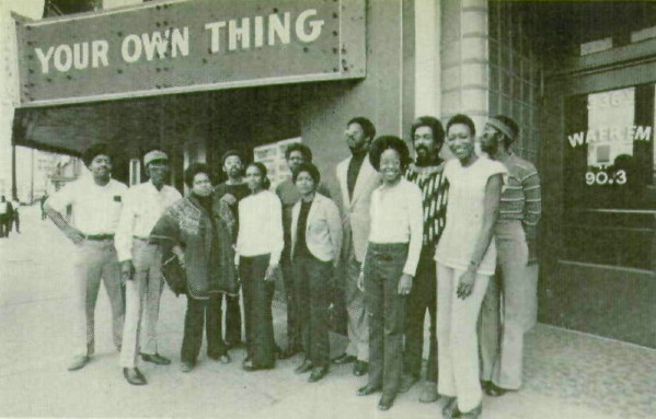 WAFR Radio's Staff, 1973